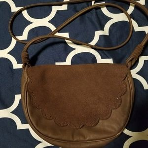 AE Brown crossbody